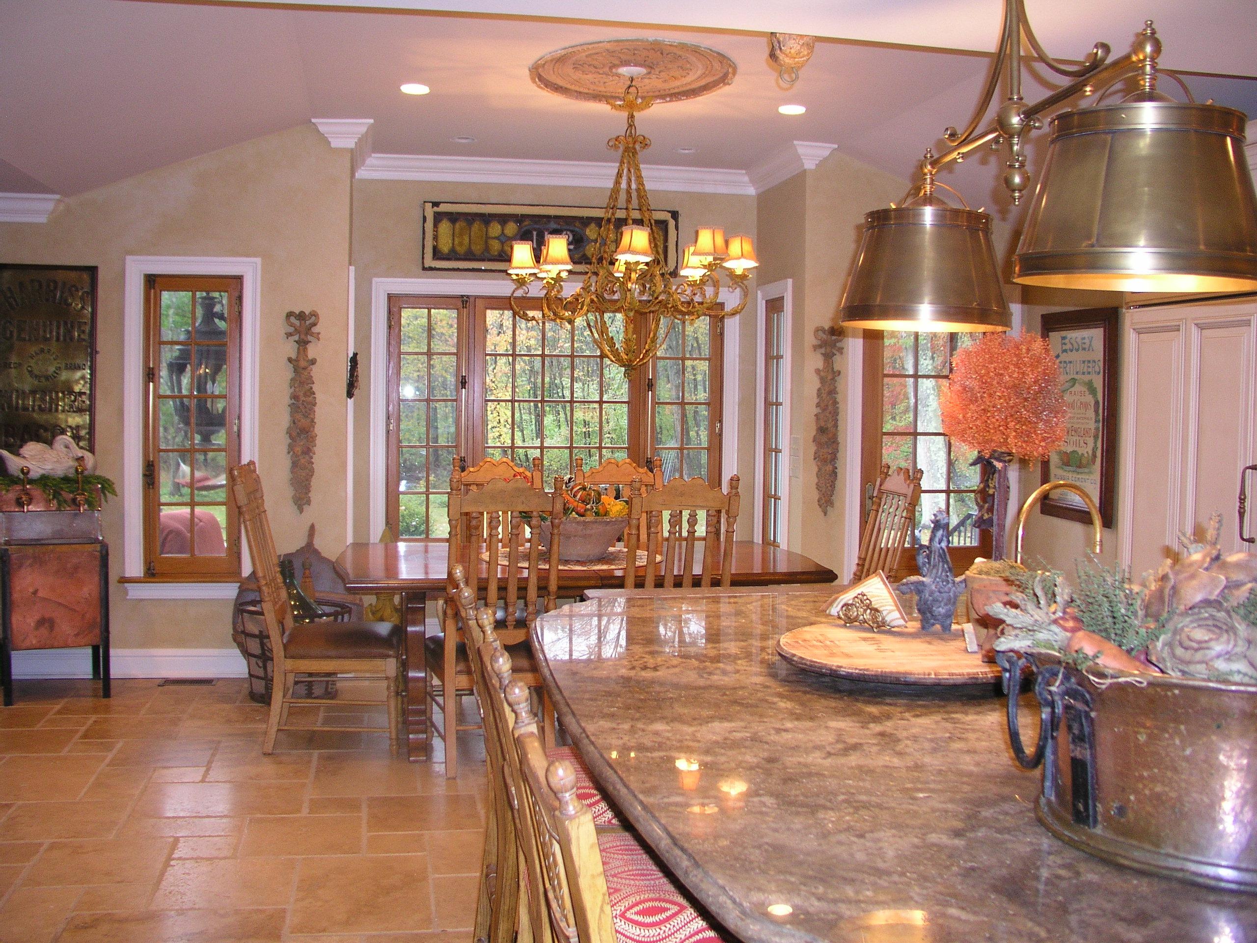 Old world kitchen in woodbridge ct kitchen design center for Old world kitchen designs