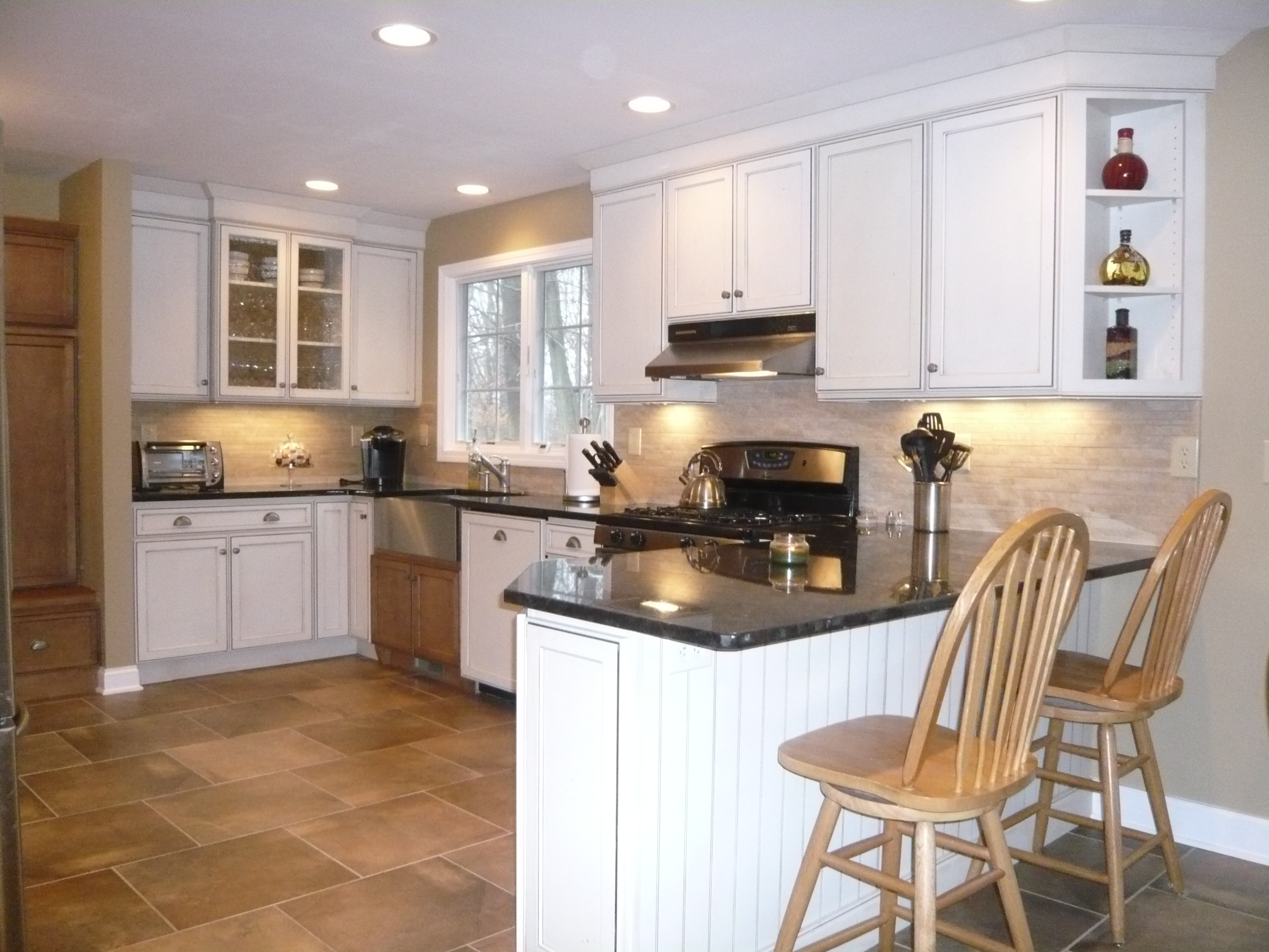 Wood And Paint Mix In Milford Ct Kitchen Design Center