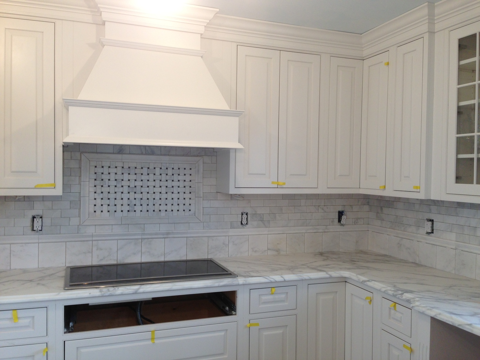 White On White A Very Classy Look Kitchen Design Center