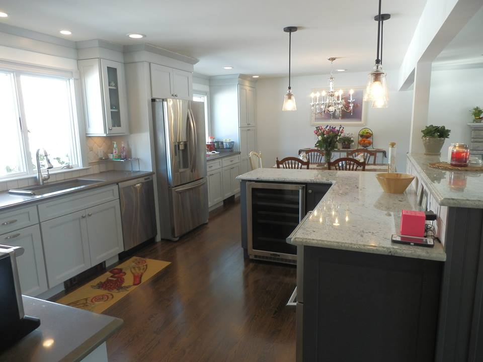 Spacious Kitchen With Modern Flair Kitchen Design Center
