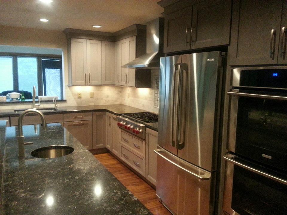 Grey Is The New White Kitchen Design Center