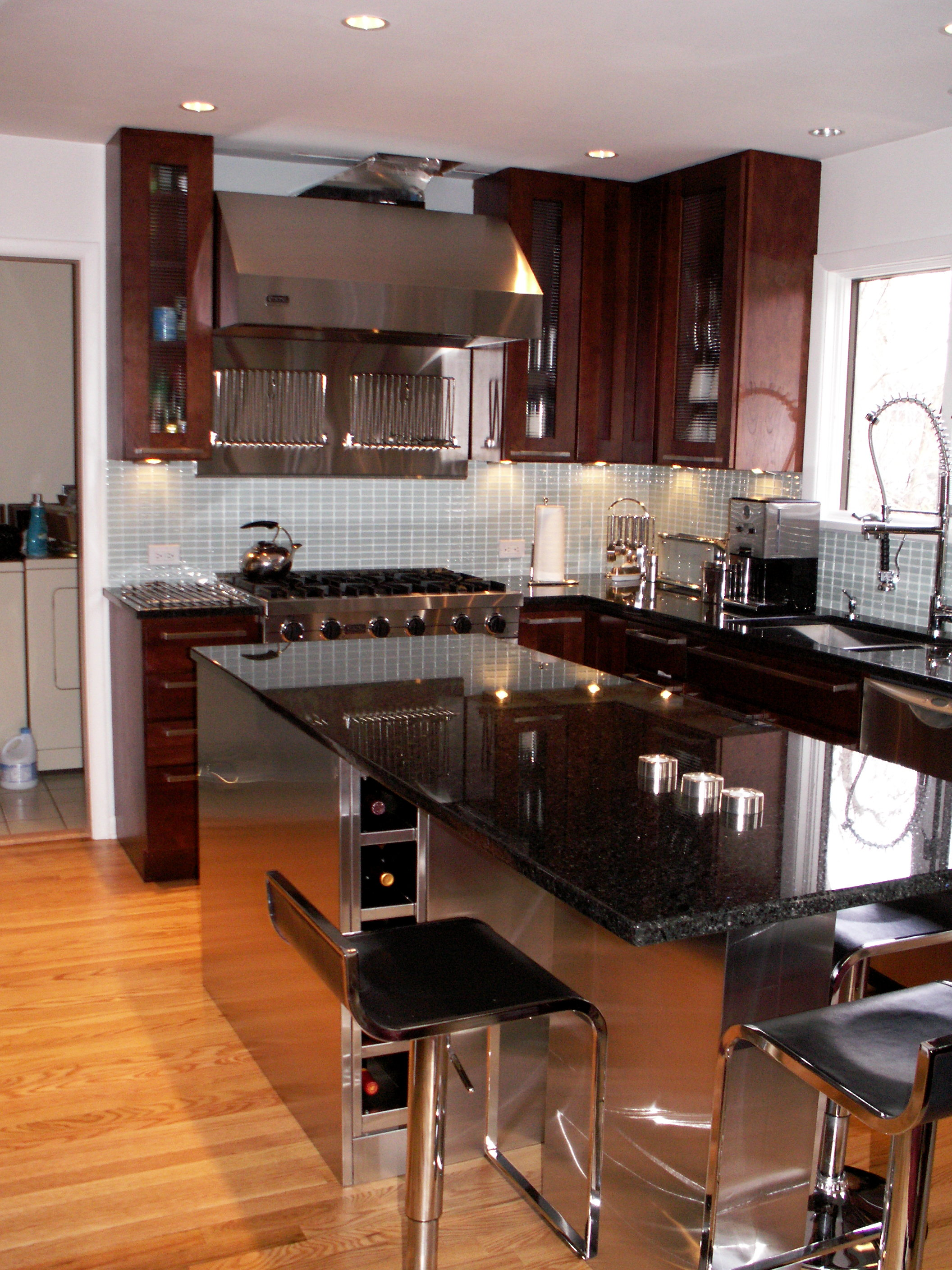 Contemporary Flair Kitchen Design Center