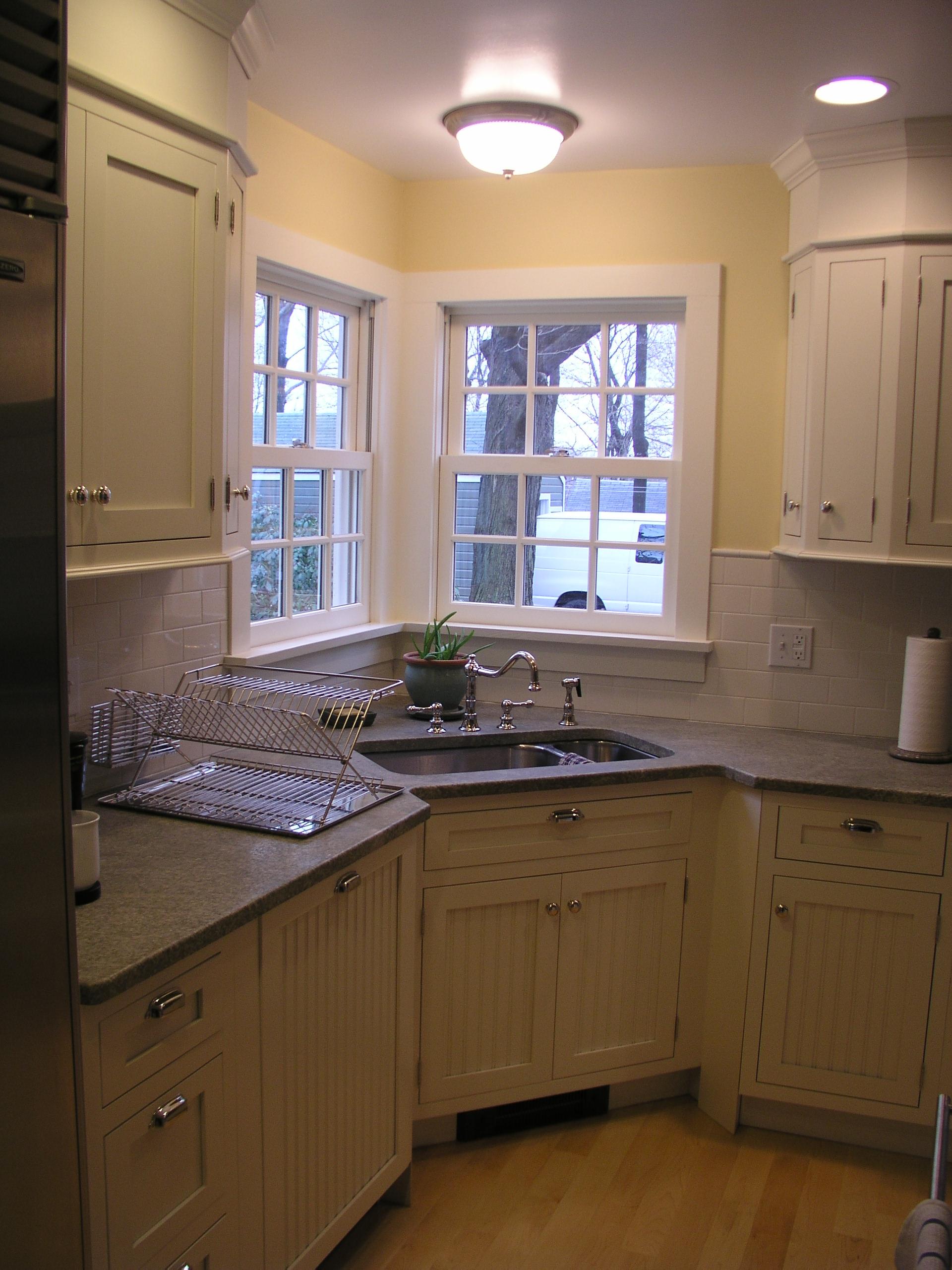 White Beadboard Paneled Inset Kitchen Kitchen Design Center